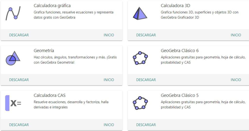 Geogebra Aplicaciones