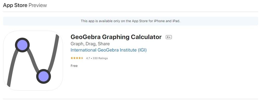 Descargar Geogebra Para IOS